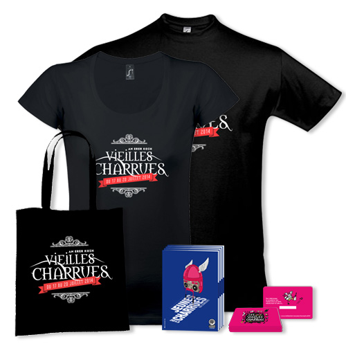 Tee-shirts / Tote-bag / Download Card - Les Vieilles Charrues
