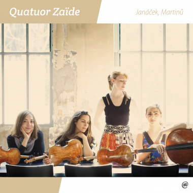Janacek, Martinu | Quatuor Zaïde
