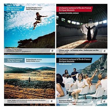Pack CD Orchestre National d' Ile de France