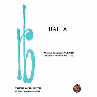 Bahia - Partition - piano-chant