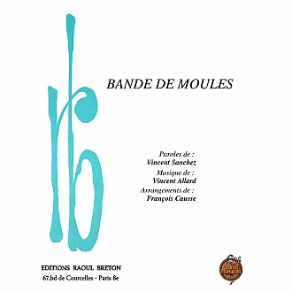 Bande de moules - Partition piano-chant