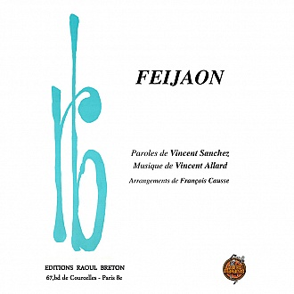 Feijaon - Partition piano-chant