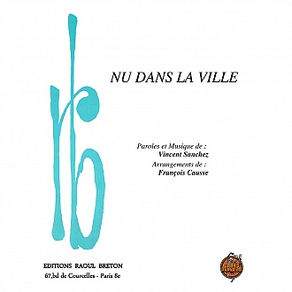 Nu dans la ville - Partition piano-chant
