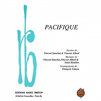 Pacifique - Partition piano-chant