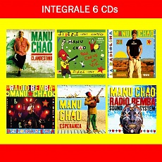 L'int�grale Manu Chao : 6 CDs