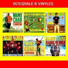 L'int�grale Manu Chao : 6 Vinyles