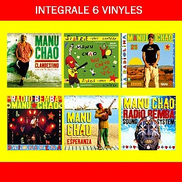 L'intégrale Manu Chao : 6 Vinyles