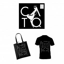 Pack Black : EP vinyle + Tee shirt noir + Sac noir