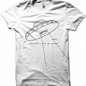 UFO T-shirt - Black Ink