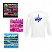 Pack Intégrale Electro Shock I II III (6 CDs) + Sweat