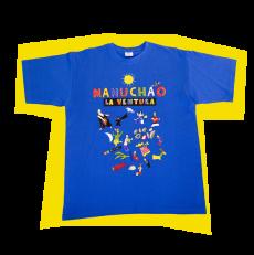 T-Shirt La Ventura Bleu Unisex