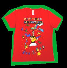 T-Shirt La Ventura Rouge Femme