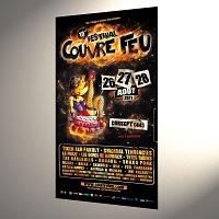 Affiche Festival Couvre Feu 2011 30x60