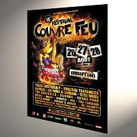 Affiche Festival Couvre Feu 2011 80x120