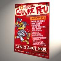 FESTIVAL COUVRE FEU 2009 / BÛCHERON