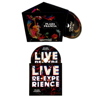 Edition Collector 2 CD: CD album + CD live Re-expérience