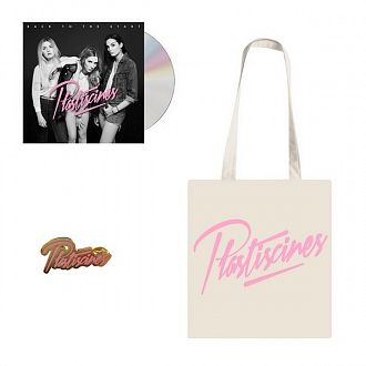 Pack Plastiscines CD + Tote bag + Pins offert