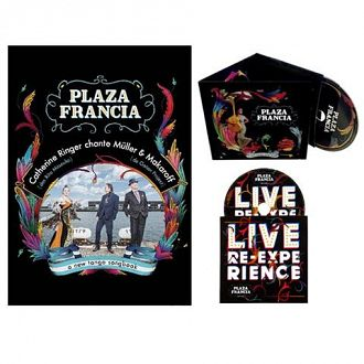 Pack 2 CDs collector (album + live) + Affiche ed. limitée 300 ex