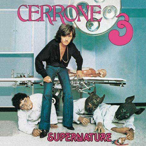 CERRONE III - SUPERNATURE - LP COULEUR VERT D'EAU +