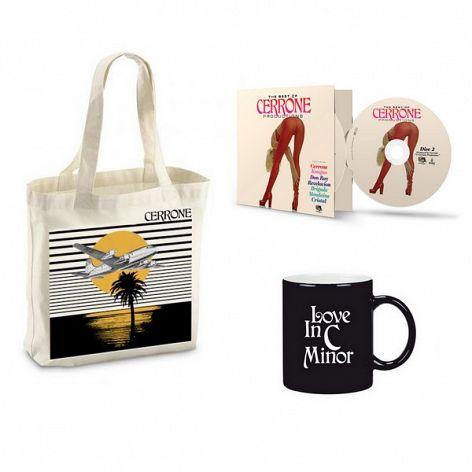 Pack Cerrone Best of 2 cds + Tote bag + Mug