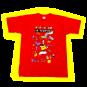 T-Shirt La Ventura Rouge Homme