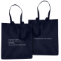 Tote bag navy Chaleur Humaine