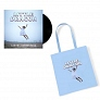 Pack Vinyle Nabuma Rubberband + Tote bag bleu